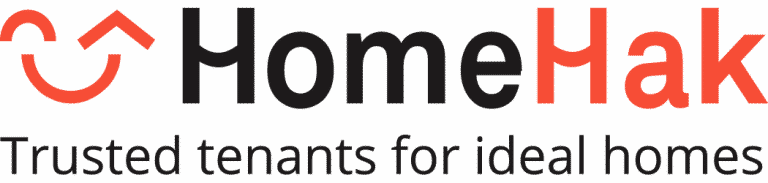 Trusted tenants for ideal homes HomeHak Logo_1